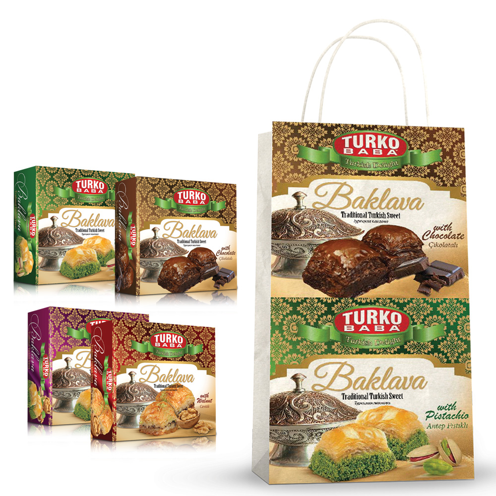 Turko Baba - 4 Box of Baklava Gift