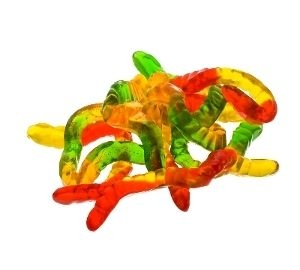 - Colorful Snakes Jelly Bean Mix of Fruit