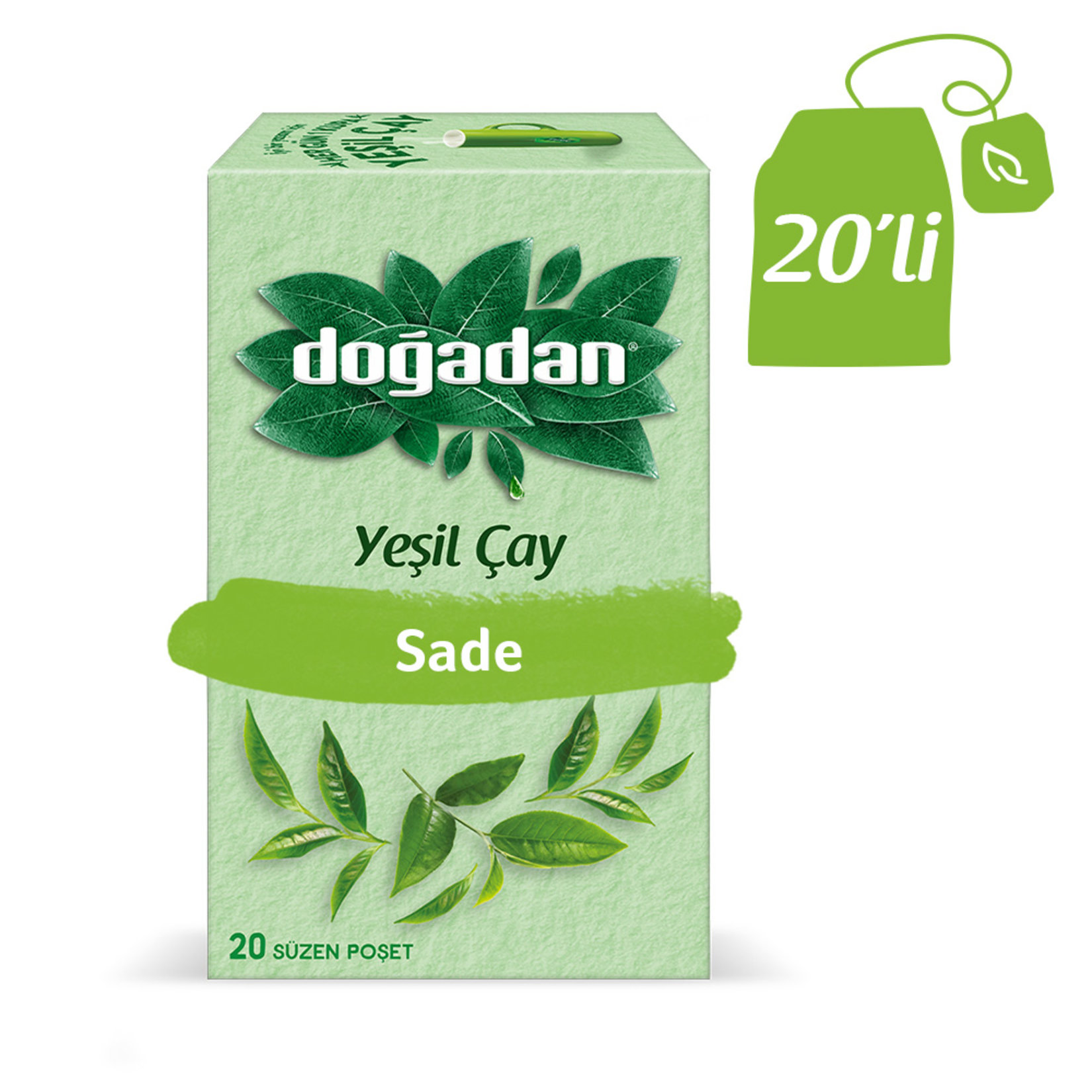 Doğadan - Green Tea 20 Bags in Box