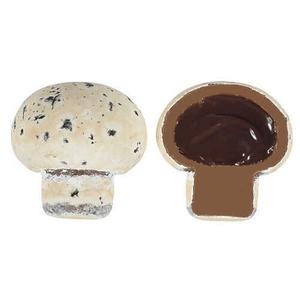 - Inside Cream Chocolate Mushroom