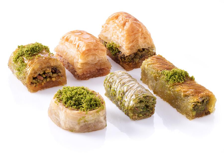 Mix of Baklava