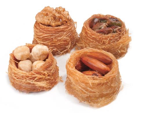 - Nightingale Nest Shape Kadayif(Bülbül Yuvası)
