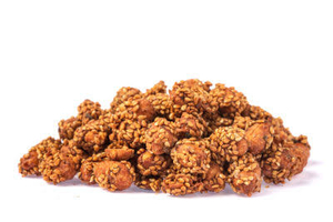 - Peanut covered with Sesame
