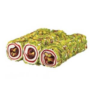 Pomegranate and Pistachio covered with Pistachio