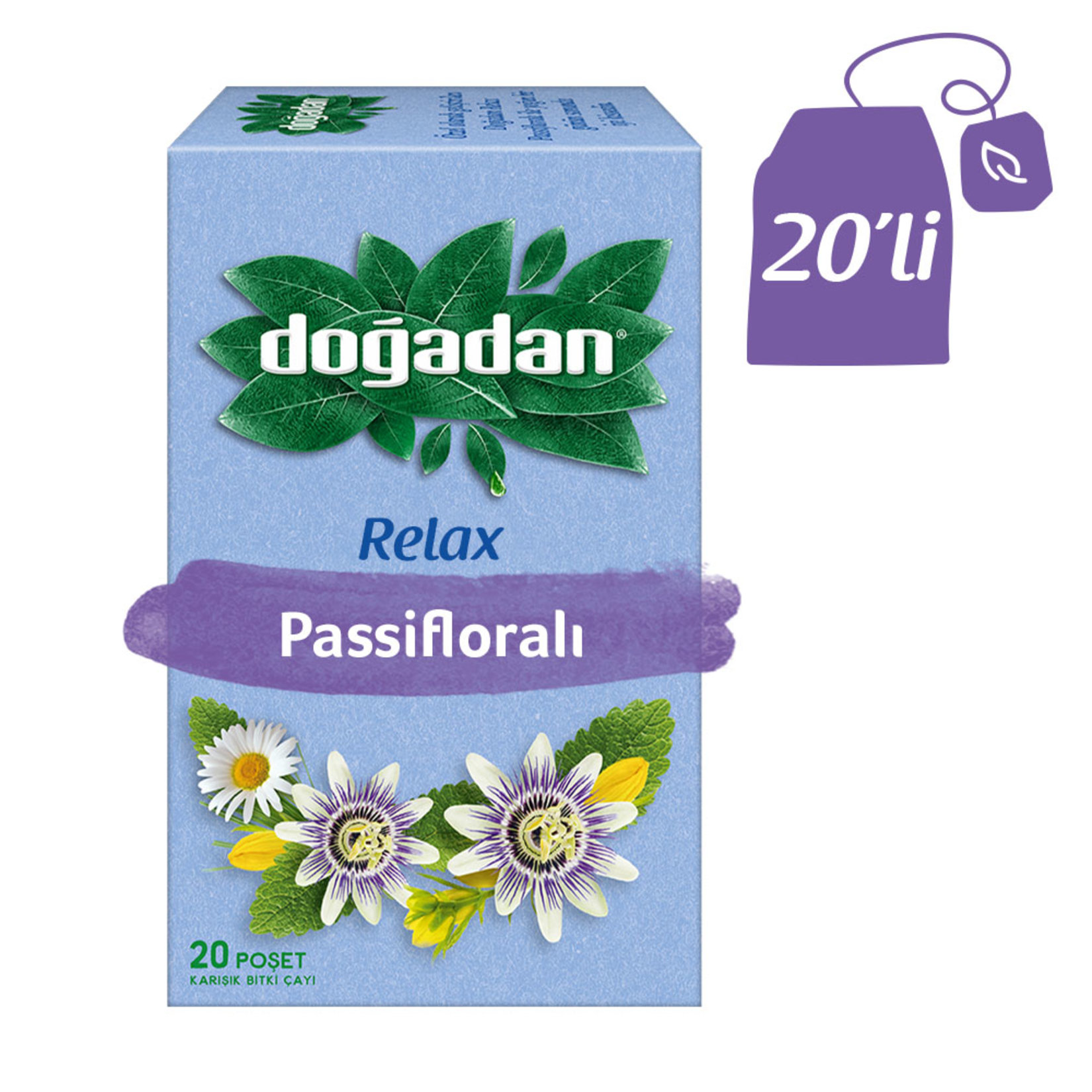 Doğadan - Relax Tea 20 Bags in Box