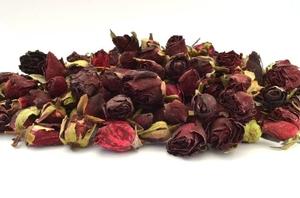 - Dark Red Rose Buds