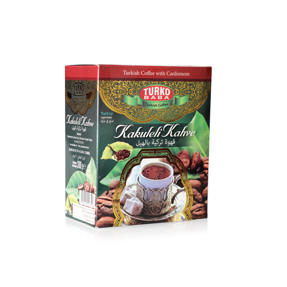 Turko Baba - Turkish Coffee with Cardamom