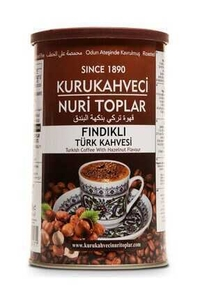 Nuri Toplar - Turkish Coffee with Hazelnut 250 gr