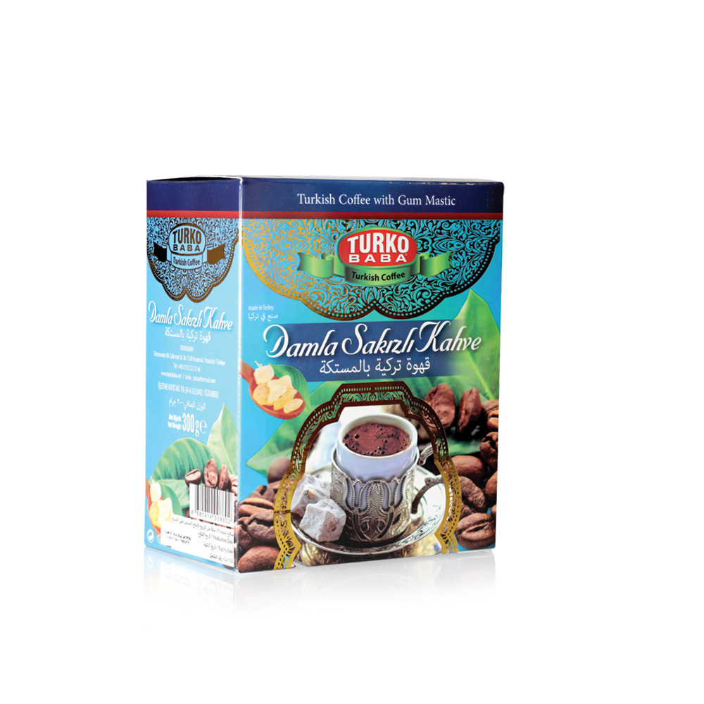 Turko Baba - Turkish Coffee with Mastic Gum 300 gr