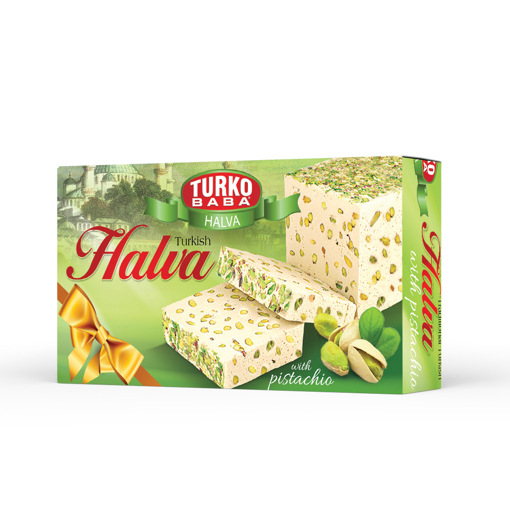 Turko Baba - Turkish Halva Pistachio