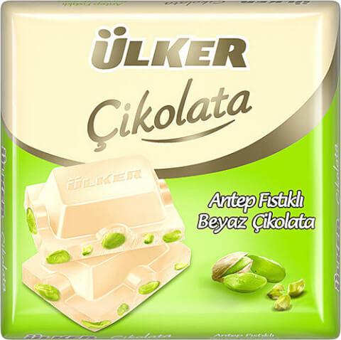 Ülker - White Chocolate with Pistachio
